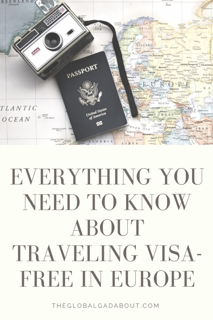 What is the Schengen Agreement? How does it effect tourist visas in Europe? Click through to learn how to navigate Europe's largest visa zone and how to legally stay in Europe longer than 3 months! #theglobalgadabout #travelblogger #traveleurope #visafree
