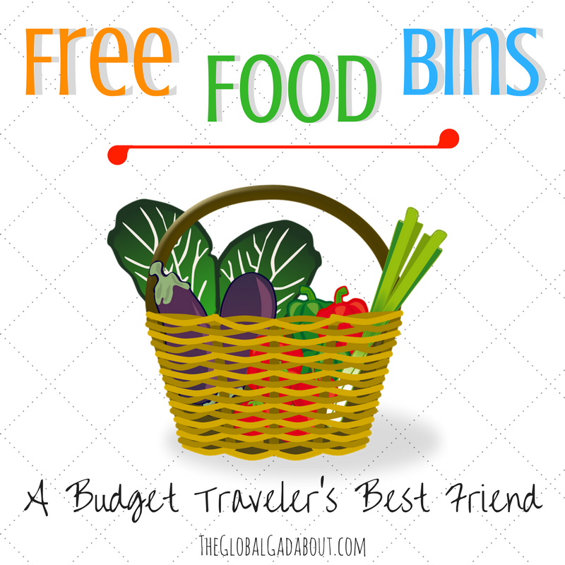 Free Food Bins: A Budget Traveler's Best Friend