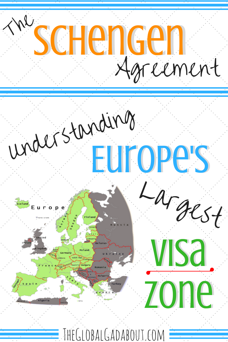 What is the Schengen Agreement? How does it effect tourist visas in Europe? Learn how to navigate Europe's largest visa zone and how to legally stay in Europe longer than 3 months! #theglobalgadabout #travelblogger #traveleurope #visafree