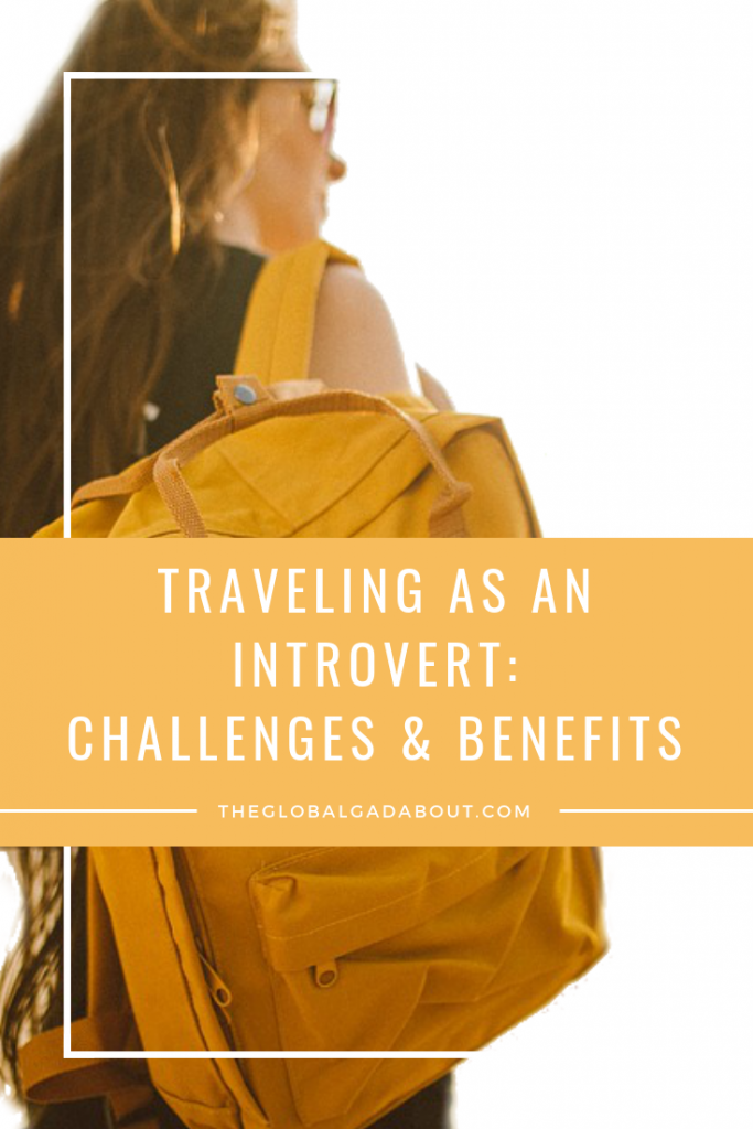 I am definitely an introvert! But I love to travel and do it all the time. In fact, I spent 6 of the last 12 months abroad. There are some things about travel that are difficult for introverts, but there are ways to help with that and the benefits far overshadow the challenges anyway! Check out this post for more on my experience traveling as an introvert! #introvert #travel #introverttravel #solotravel