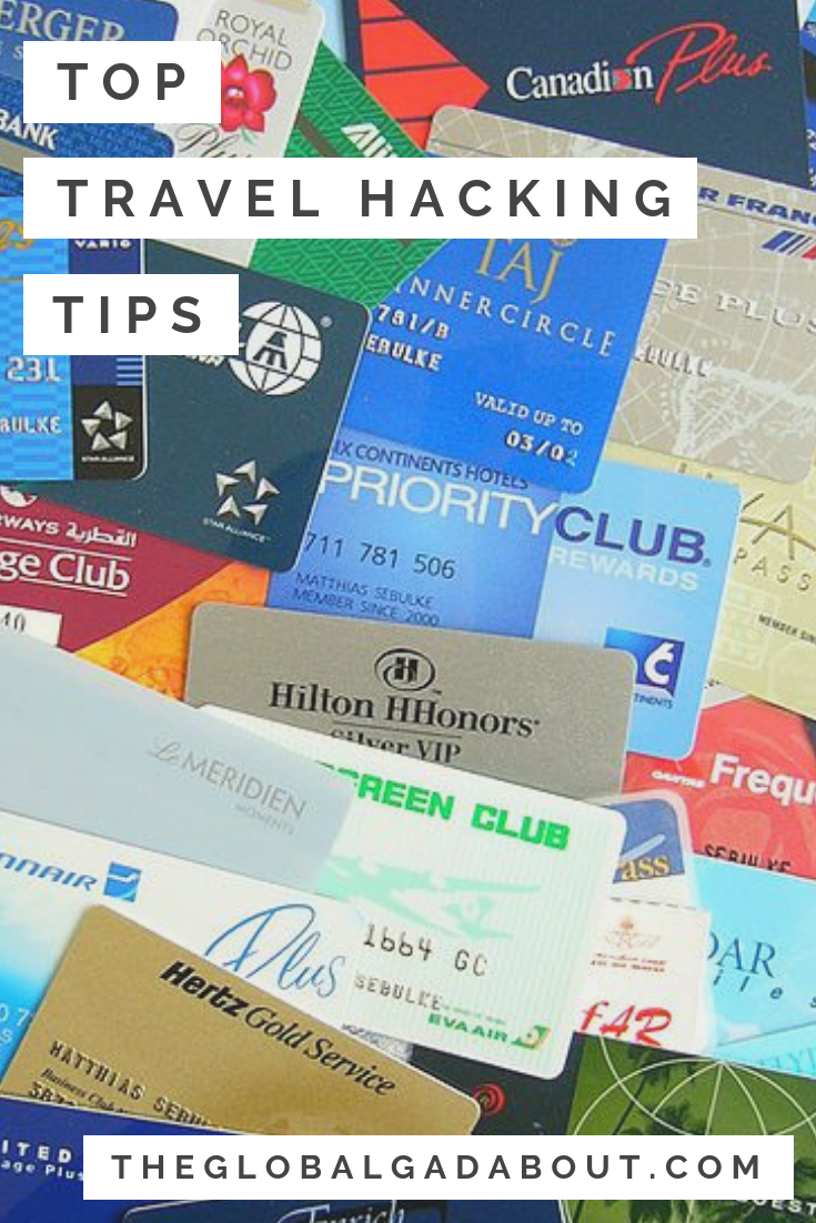 So you've decided to try travel hacking and get a travel rewards credit card. Now you have to learn to get the most out of it! Click through to discover my 5 easy tricks for maximizing your credit card travel rewards. #theglobalgadabout #travelhacks #travelhacking #traveltips #travel #travelblog #travelblogger #rewardscreditcard #travelrewards #creditcardpoints