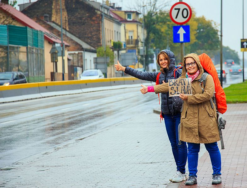 #Hitchhiking can be a great way to get a #freeride and meet interesting locals while traveling. But it has a dangerous reputation. Click through to read all about safety, dos and don'ts, and where in the world its legal from an experienced hitcher! #hitching #freetravel #budgttravel #backpacking #theglobalgadabout #traveltips #travelblog #travelblogger