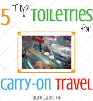 5 Top Toiletries for Carry-On Travel