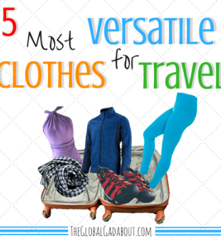 5 Most Versatile Clothes for Travel