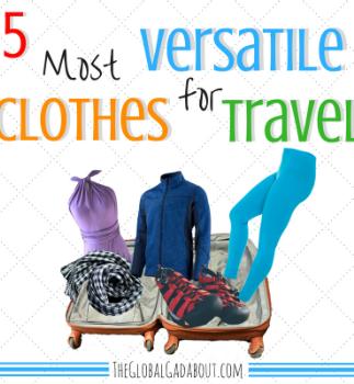 5 Most Versatile Clothes for Travel