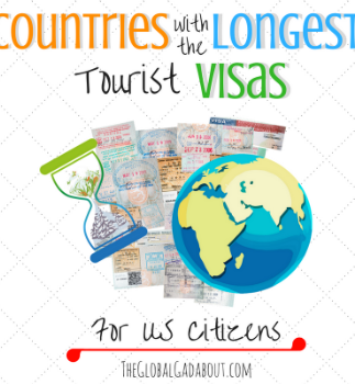 Countries with the Longest Tourist Visas for US Citizens