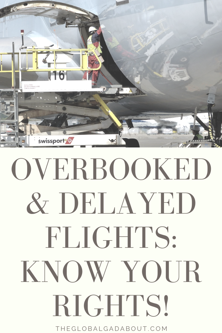 What if you are one of the poor travelers who ends up bumped from a flight, delayed for hours, or even have you flight canceled on you? Click through to find out exactly what rights to rerouting and compensation you have! #theglobalgadabout #delayedflights #overbooking #travelproblems #travelrights #airlinerights #canceledflights #traveltips