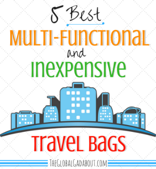 5 Best Multi-Functional & Inexpensive Travel Bags
