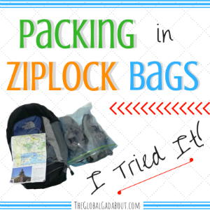 Packing in Ziploc Bags