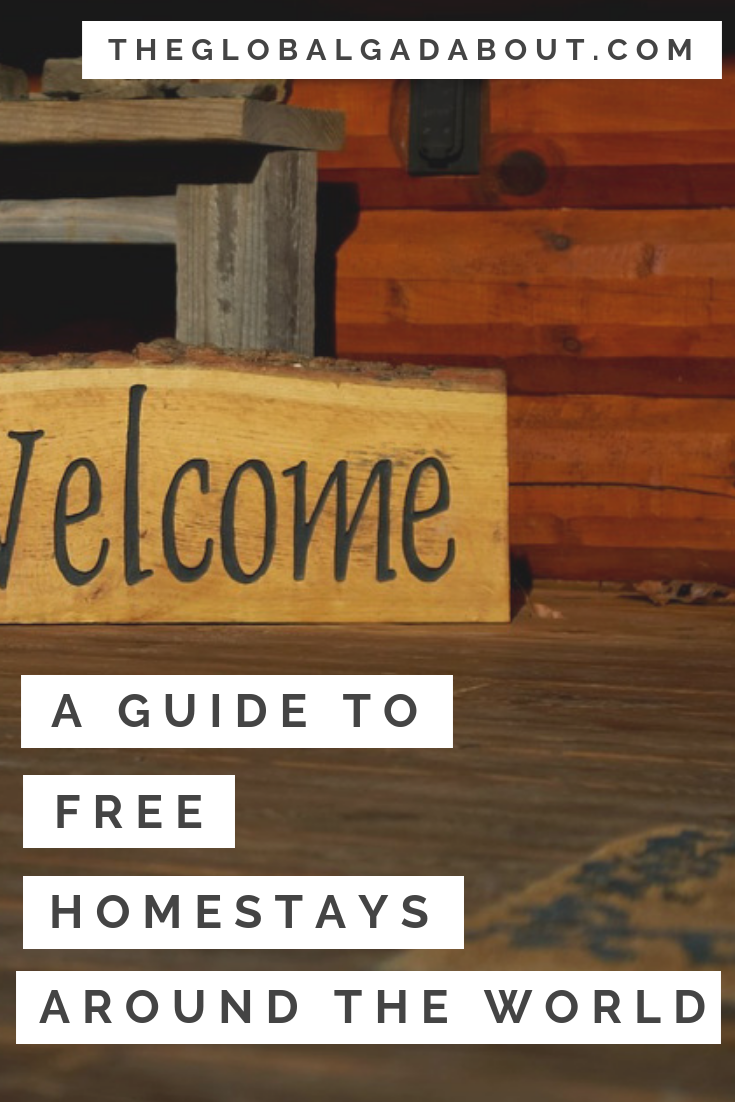 Want to meet cool locals when you travel and save money by staying with them for free? Click through to find out everything you need to know about #Couchsurfing and free homestays! #theglobalgadabout #homestay #budgettravel #freeaccommodation #freetravel #culturalexcahnge