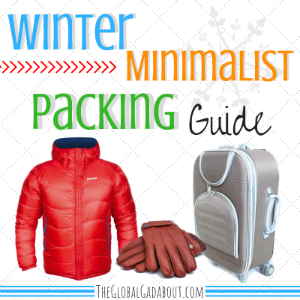 Winter Minimalist Packing Guide