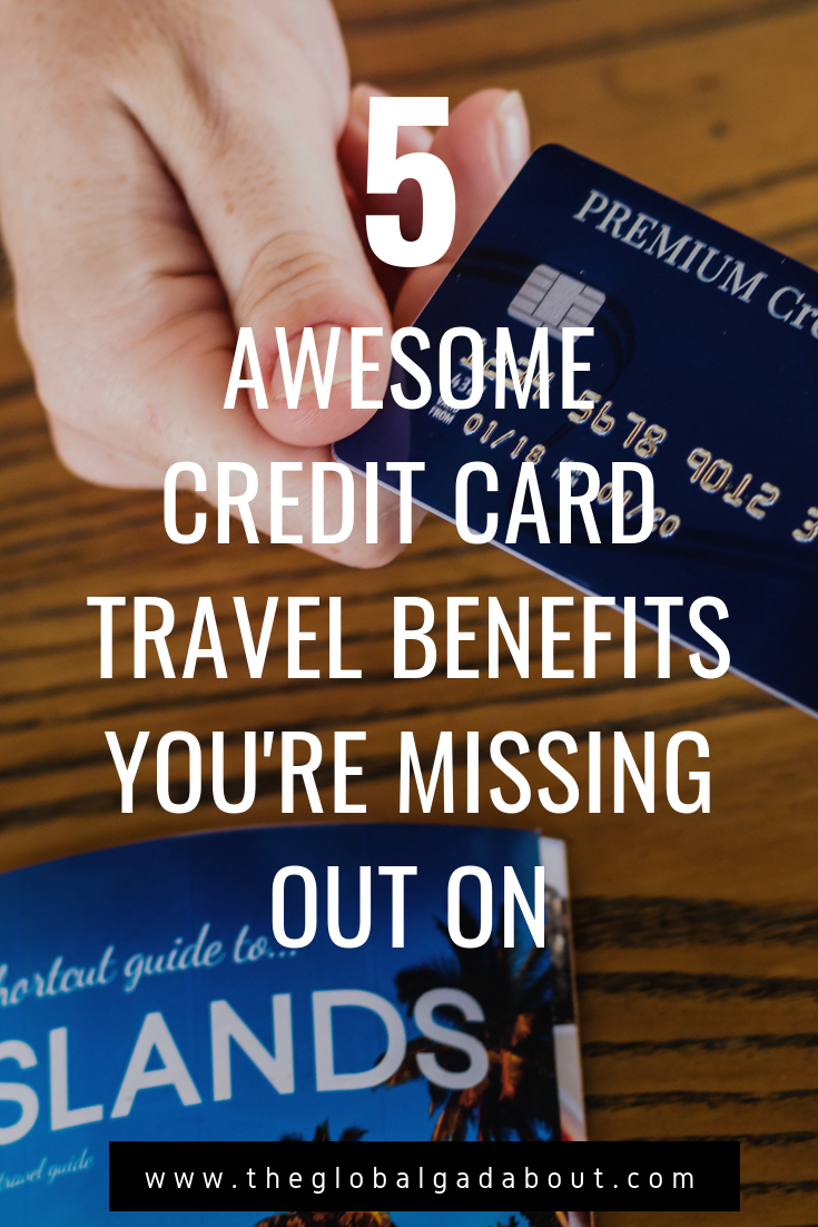 #TravelRewards #CreditCards have more perks than just points! Don't miss out on some of the amazing benefits you may not know you are entitled to! Click through to read all about them. #travelhack #travelhacking #theglobalgadabout #travelblog #travelblogger
