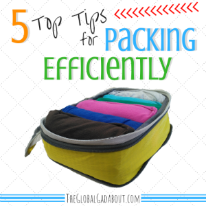 5 Top Tips for Packing Efficiently