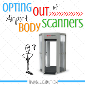 Opting Out of Airport Body Scanners