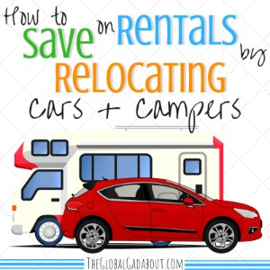 Save on Rentals by Relocating Cars & Campers
