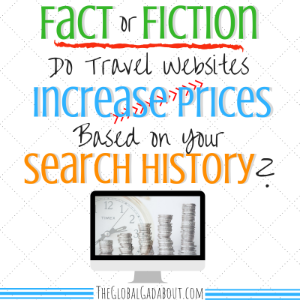 Do Travel Websites Increase Prices Based on Your Search History?