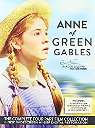 Anne of Green Gables Kevin Sullivan Restoration Complete 4-Part Collection DVD